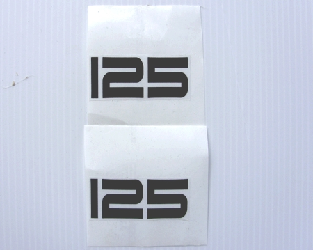Autocollants stickers pour yamaha 125 ty