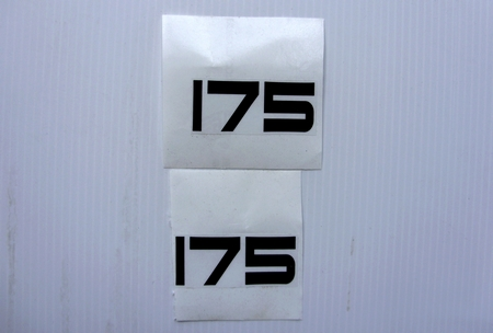 Autocollants stickers pour yamaha 175 ty