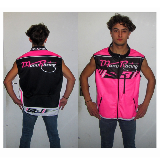 Gilet chaud sans manches by team manuracing T: XL