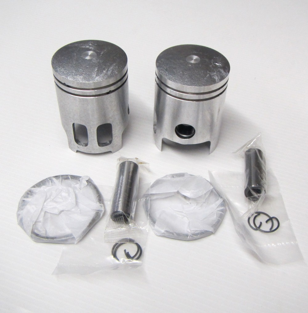 kit 2 pistons 125 RD-DX RDX AS3 cote 0,25 DISPO