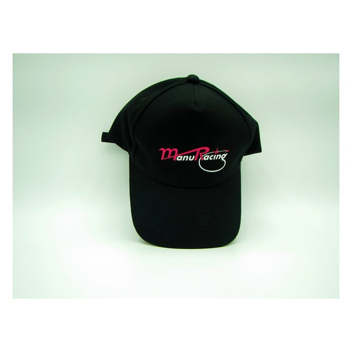 Casquette officiel du team Manuracing noir