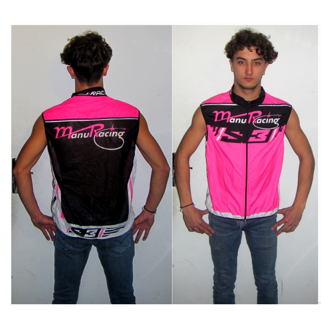 Gilet super léger sans manche by team Manuracing T: L